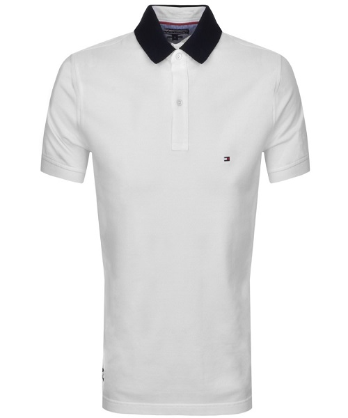 TOMMY HILFIGER POLO T-Shirt White. - Hammonds Online Store