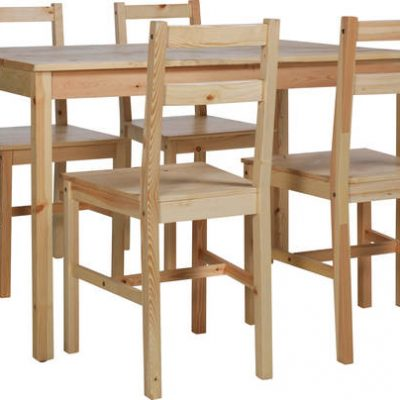 HOME Raye Solid Wood Dining Set