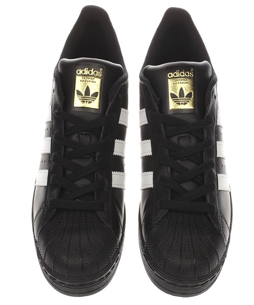 new styles 5c9f6 d6fa2 adidas white   black superstar foundation trainers