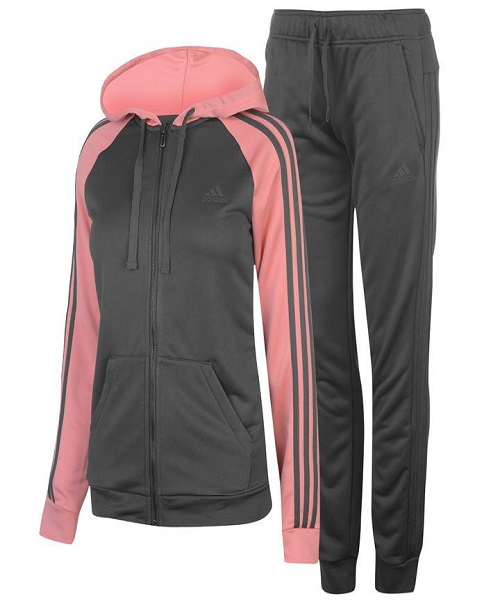 e95b058cde8 adidas Womens Focus Tracksuit - Utility Ivy - Hammonds Online Store