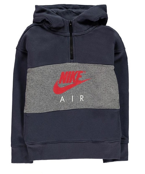448a14538f29 Nike Air Boys Half Zip OTH Hoodie - Blue Thunder - Hammonds Online Store