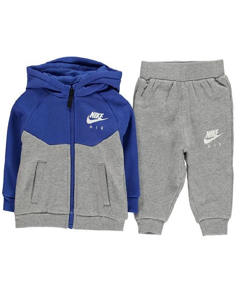 993a9a1c Nike Air Infant Boys Fleece Full Zip Tracksuit - Game Royal