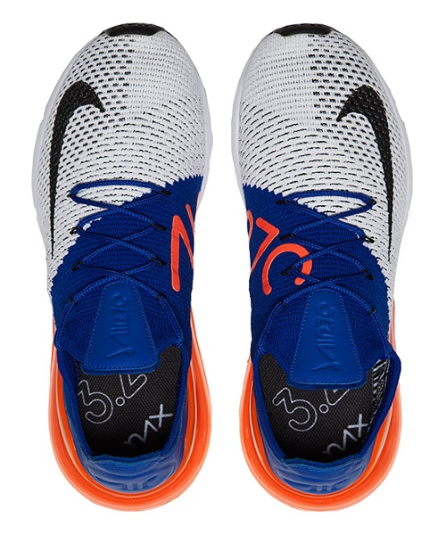 competitive price 7a684 aeadd Nike Air Max 270 Flyknit - Racer Blue & Total Crimson