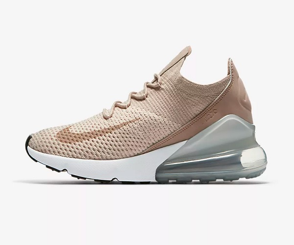 Nike Air Max 270 Flyknit - Desert Dust & Particle Beige