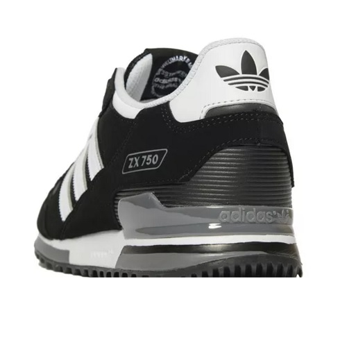 hot sale online 872bd 508fb adidas Originals ZX 750 - Black  White - Hammonds Online Sto
