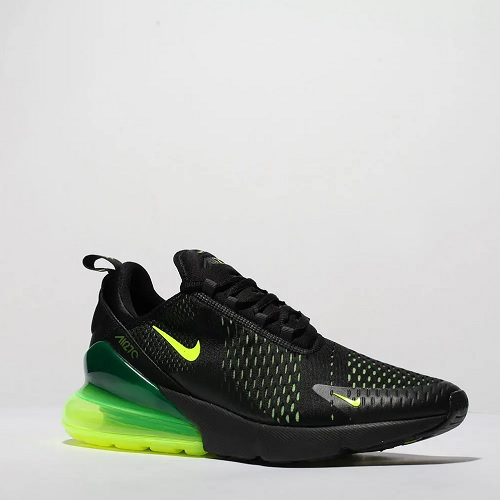 check out d5d5a 950c4 Nike Air Max 270 - Black & Neon Green