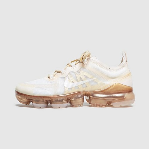 on sale 5f975 032fc Nike Air VaporMax 2019 Women's - White & Gold